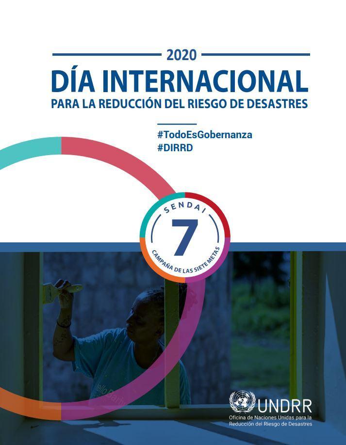 13 de octubre: Día internacional para la Reducción del Riesgo de Desastres